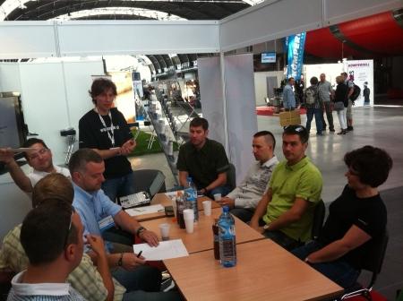 Podczas spotkania Członków POG reprezentowane były następujące firmy AMC (Petzl), Euromark (Campus, Alpinus), Salewa, Regatta i Dare2Be, Magazyn Góry, 4outdoor, VMG Outdoor Sports Marketing oraz nowi członkowie z firmy Escape 360