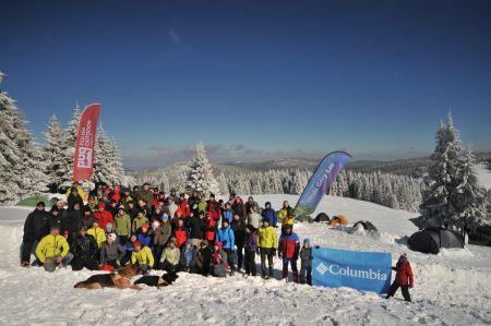 Uczestnicy i organizatorzy WinterCamp'u 2011